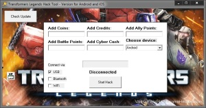 transformers legends hack tool